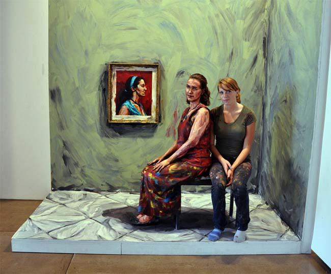 Maliarka Alexa pomaľovala ľudské telo úžasným spôsobom, z 3D do 2D-candyman.sk (10)