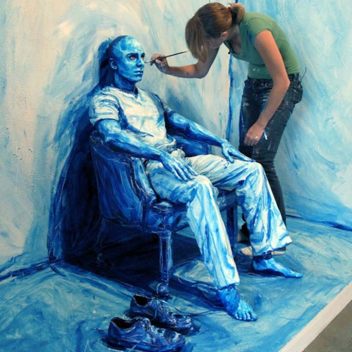 Maliarka Alexa pomaľovala ľudské telo úžasným spôsobom, z 3D do 2D-candyman.sk (6)