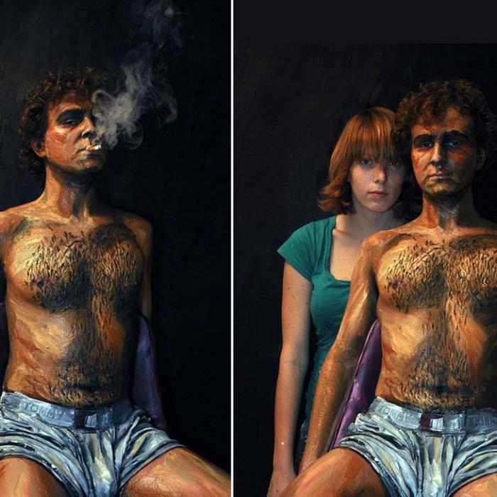 Maliarka Alexa pomaľovala ľudské telo úžasným spôsobom, z 3D do 2D-candyman.sk (8)