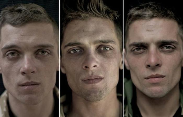 Portréty vojakov pred vojnovou misiou, počas a po jej ukončení-candyman.sk (2)
