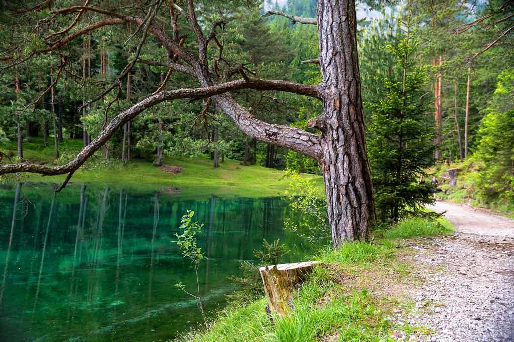 Zelené jazero