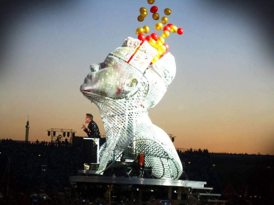 Robbie Williams - @ Krieau, Vienna, AT