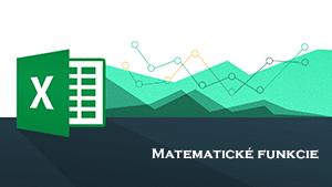 matematické a štatistické funkcie v Exceli