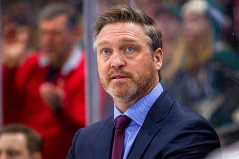 Patrick Roy coach