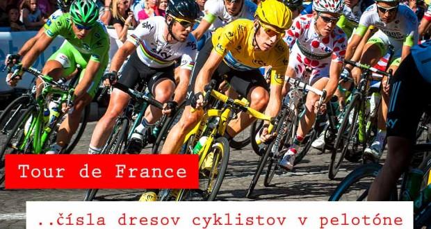 Dresy na Tour de France 2016