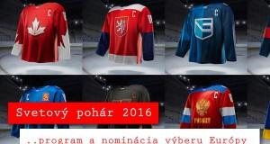 Svetový pohár 2016 program