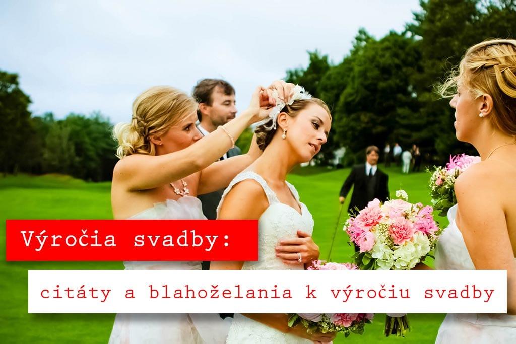 Výročia svadby - blahoželania k výročiu svadby
