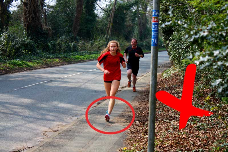 Ako správne behať  technika behania na foto a videách  ddb66fe29a3