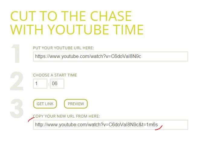 Kopírovanie youtube URL adresy pomocou online nástroja