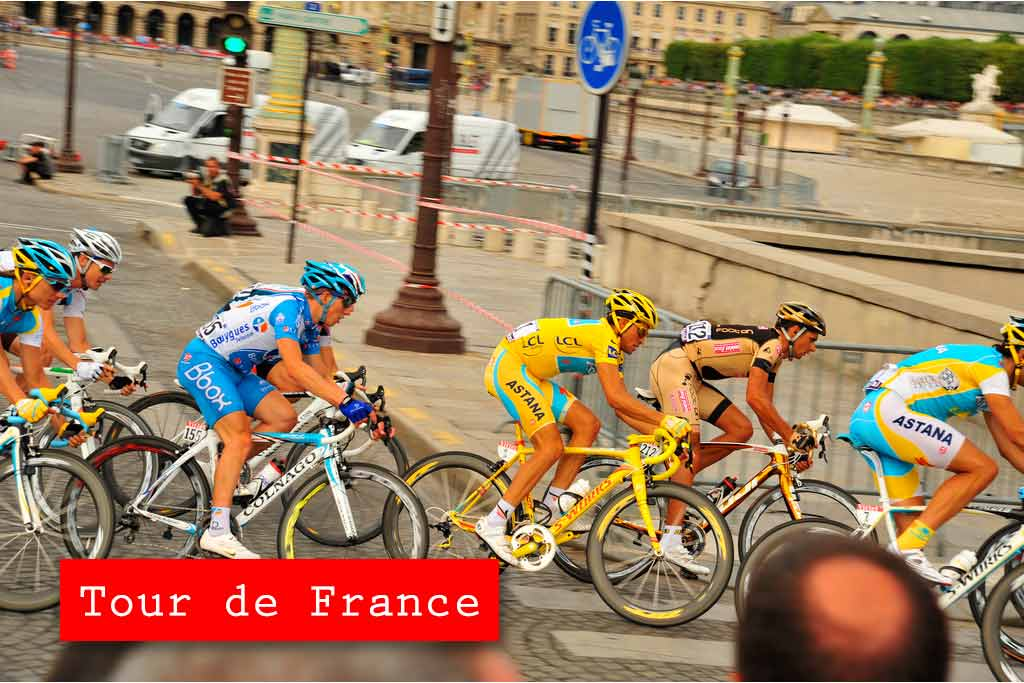 Tour de France dresy