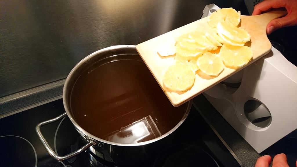 Žihľava s citrónom